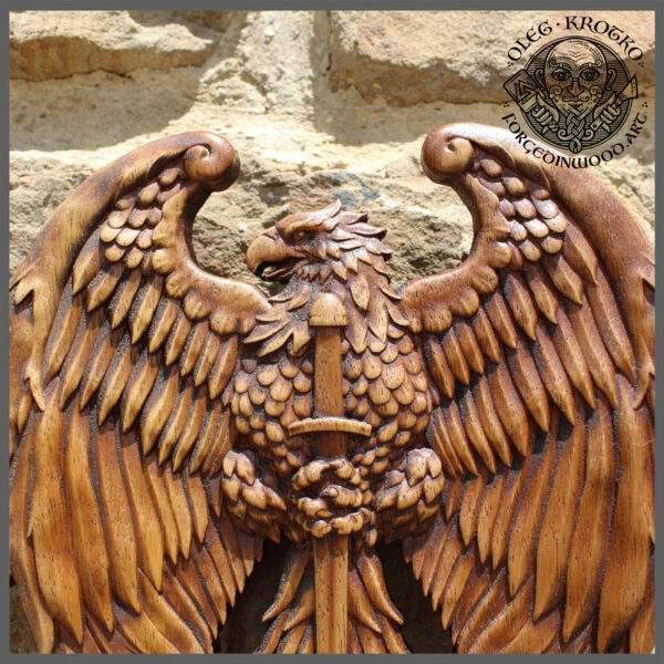 Viking Eagle Coat of Arms