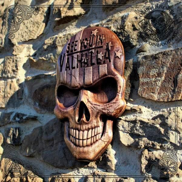 American Flag Skull artwork