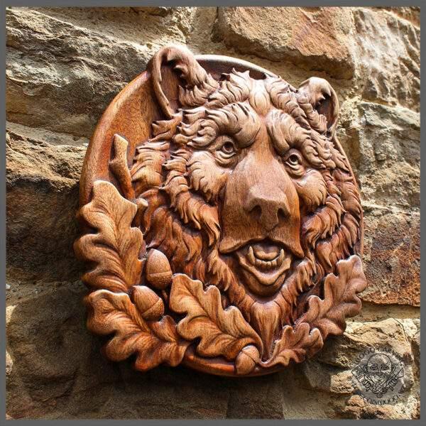 Bear Head Portrait