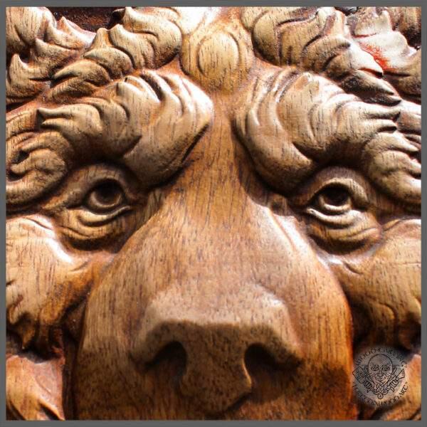 bear Wood Carving artwork