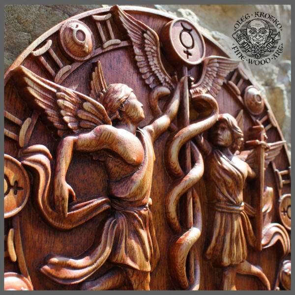 Gemeni gift carving