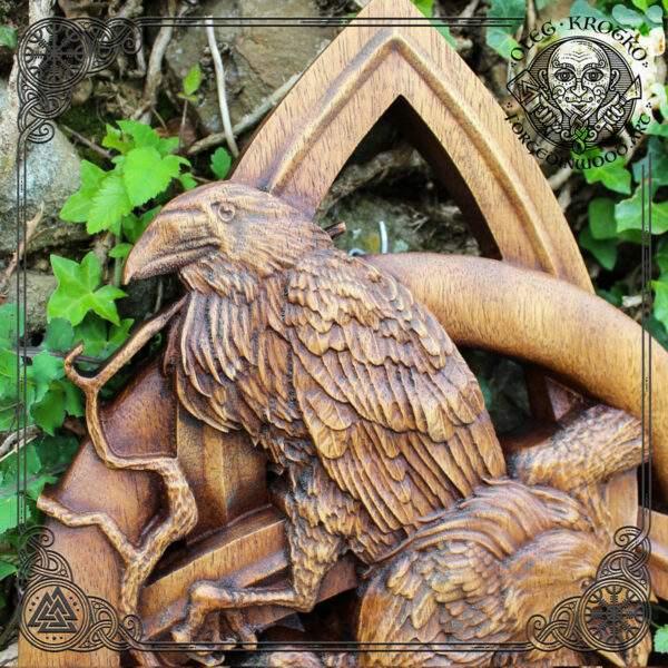 triquetra norse ravens