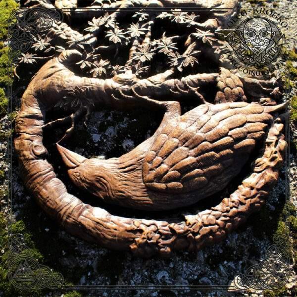 Ravens Wooden Artwork