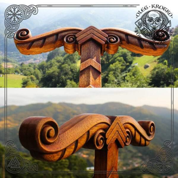 Irminsul norse mythology carvings