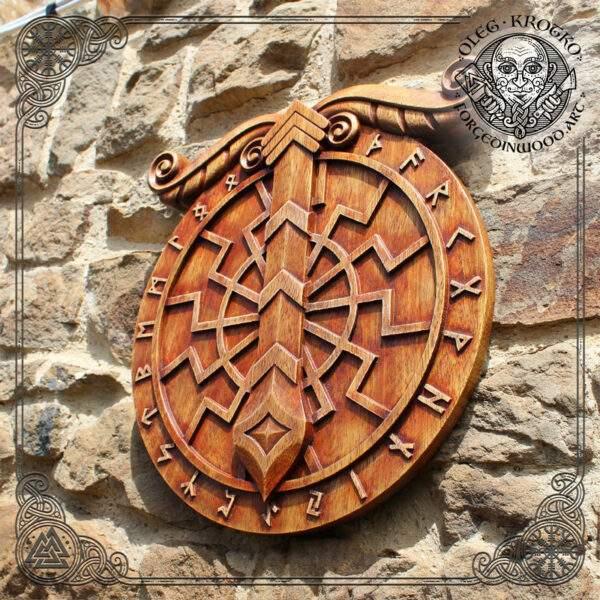 Irminsul Wood Wall Decor