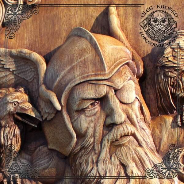 Odin and Ravens