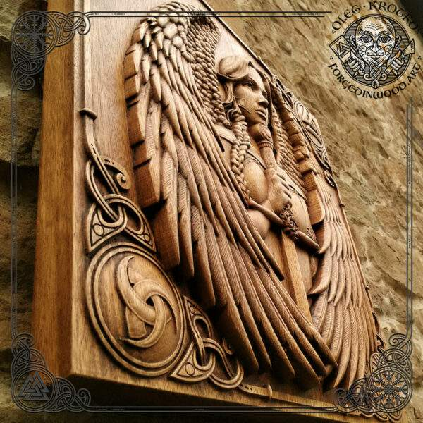 Valkyrie norse wood