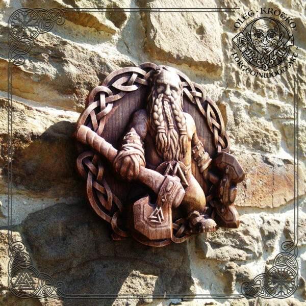 Ancient Viking carvings