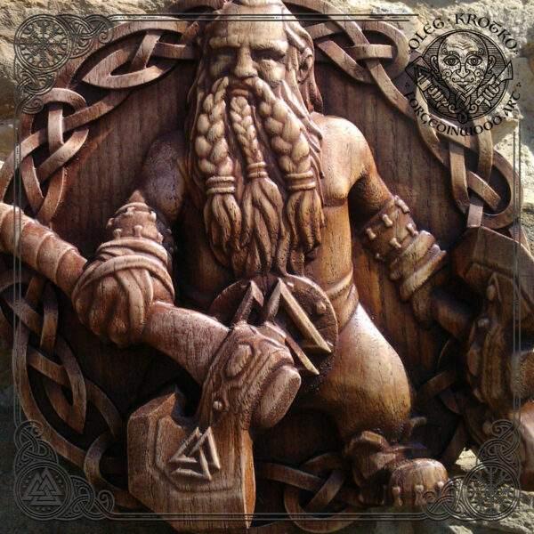 Viking axe Wall Hanging