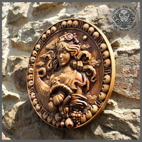 Virgo horoscope wood carving gif