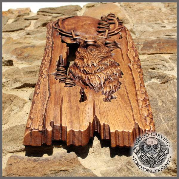 wooden carvings for wall