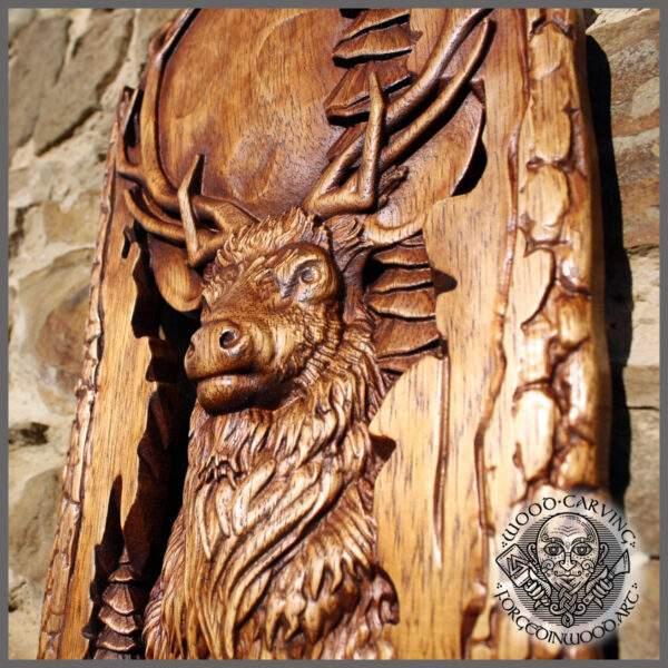 Deer Cabin Decor