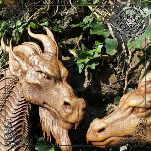 Wood Carving Wall Art Norse