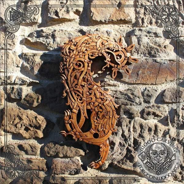 FENRIR Wall Decoration Plaquette
