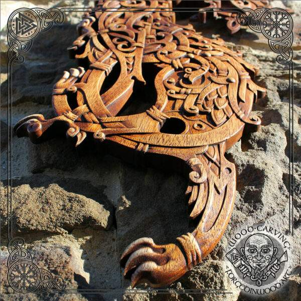fenrir wood handmade