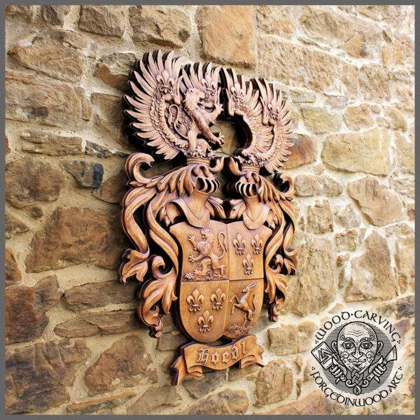 Family Heraldic Coat of Arms