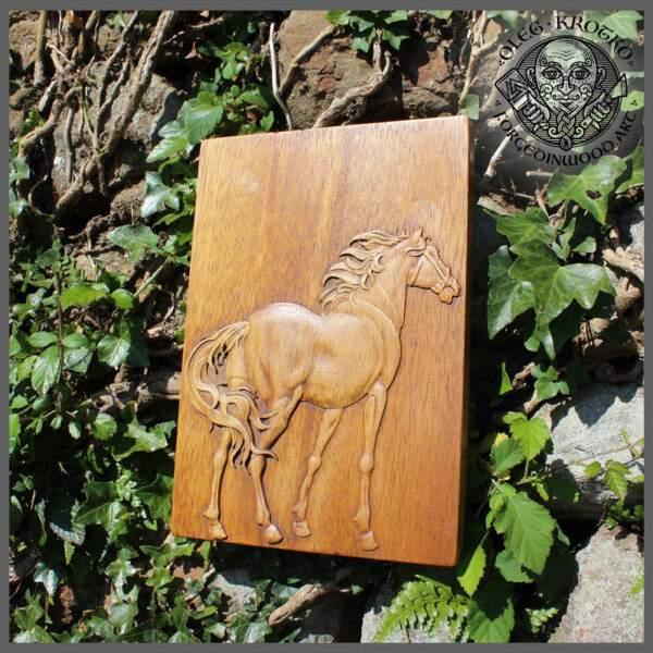 Horse portrait wall decor