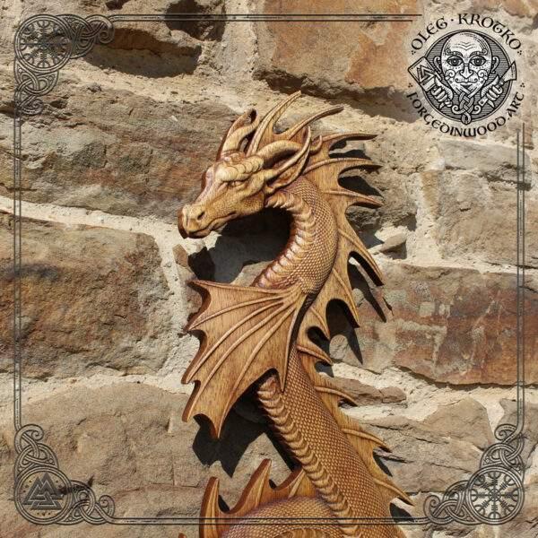 Water dragon pagan art