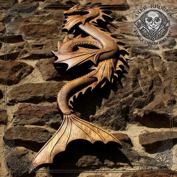 Water Dragon norse Wall Art
