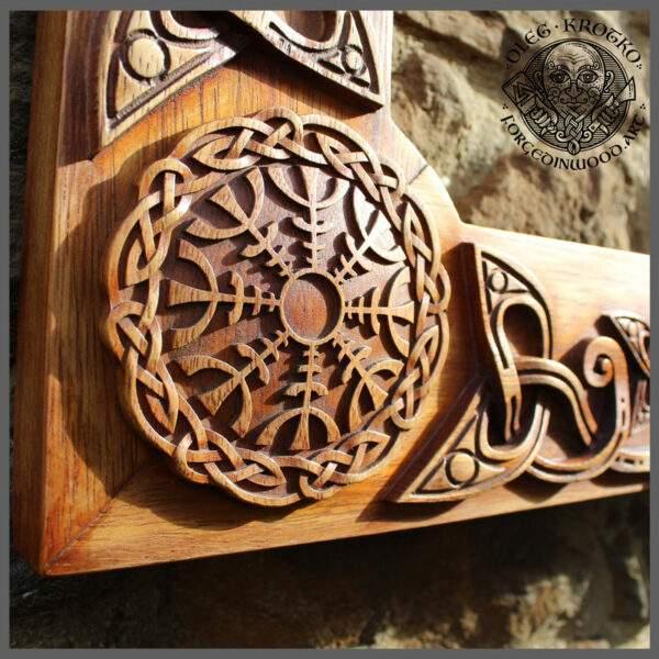 frame viking art