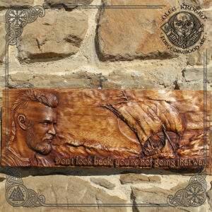 Ragnar Vikings Wall Plaque