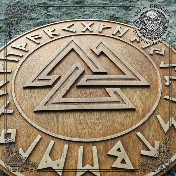 Walknut carvings