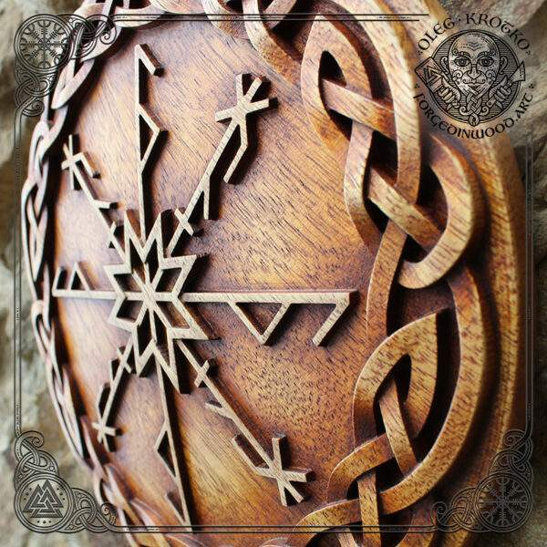 Viking Runes Protection Amulet for Home Defense