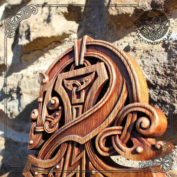 Thor Mjölnir Fenrir Knotwork