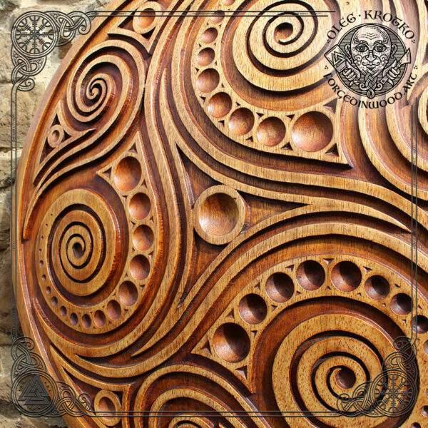 wood carving artwork