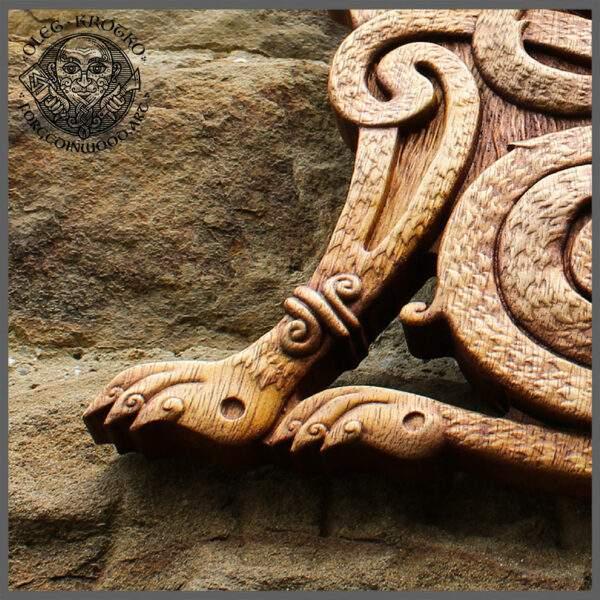 Celtic Cat Wall Design