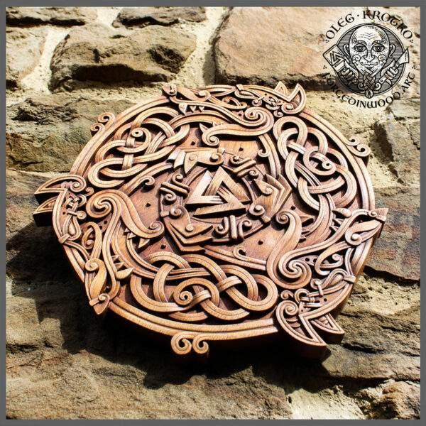 Ancient Celtic carvings