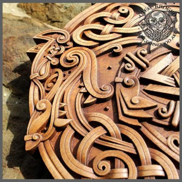 Celtic Wood Carver