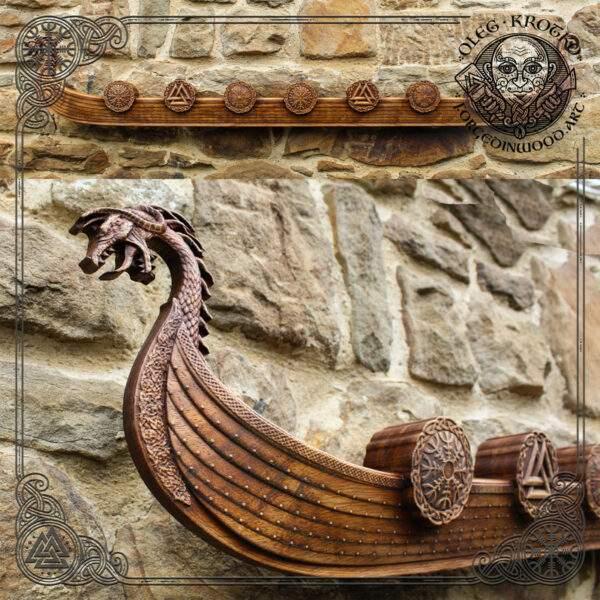 Drakkar carvings for sale
