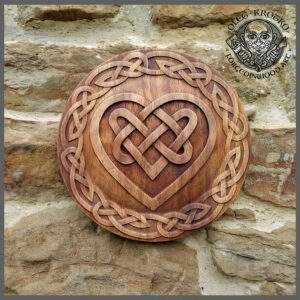 Celtic Heart Wall Art