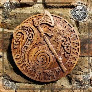 Ratatoskr Celtic Knotwork Wall Picture