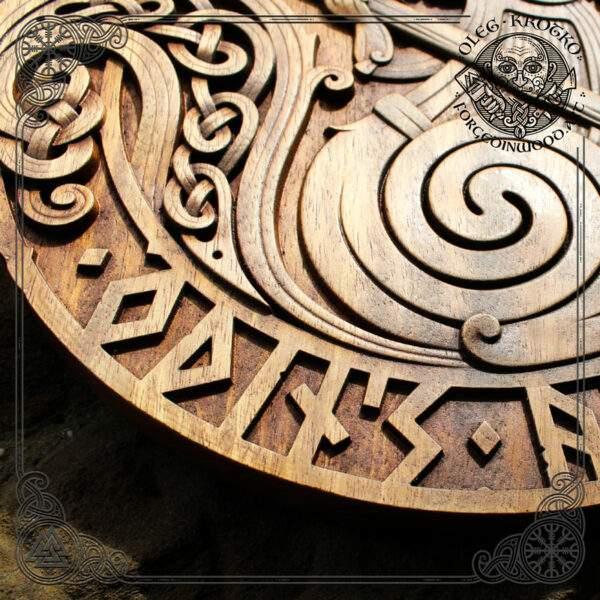 Ratatoskr carvings