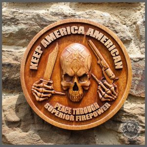 american wall hanging