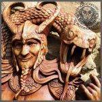 Loki viking art