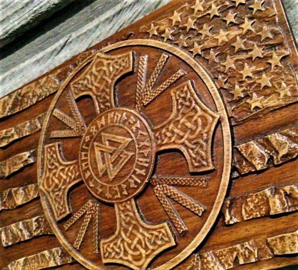 Walknut Viking Plaques