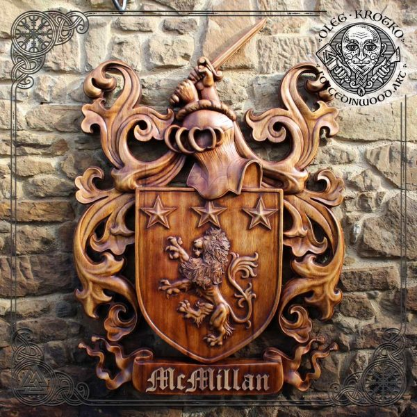 heraldic sculptor coat of arms