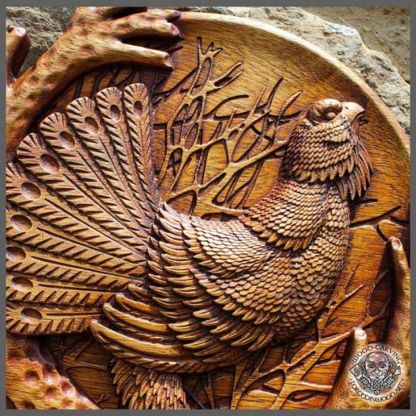 Animal wood carvings cheap