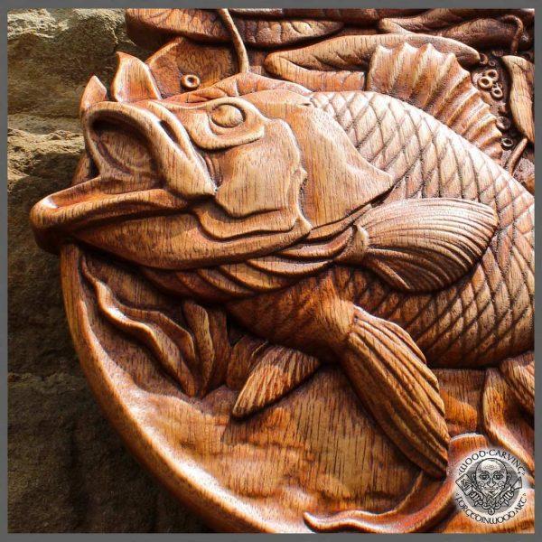 handmade Fish WildLife Decor