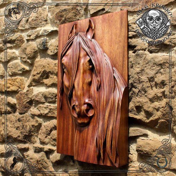 wooden horse sculptures sale