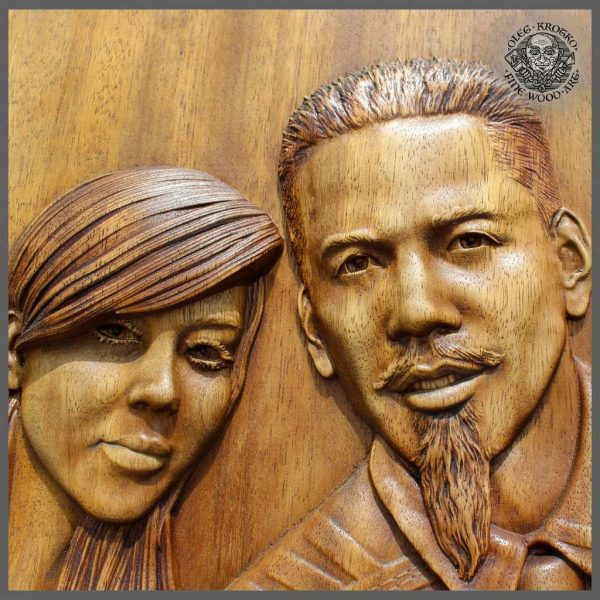 Wooden carving of your own Picture wood carving