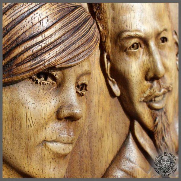 Custom 3D Portrait Photo Carving