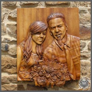 Carving Photo into Wood