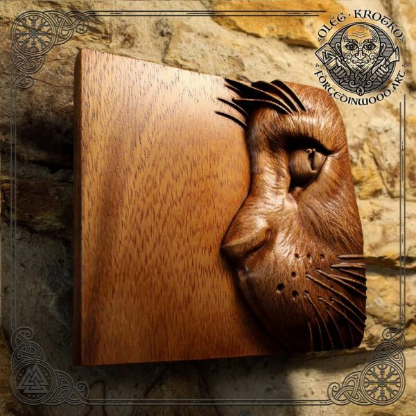 Wooden cat for sale