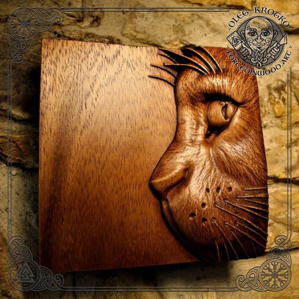 Animal Lover Gift carving