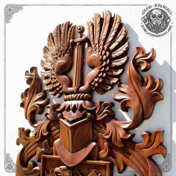 custom Luxury Coat Arms