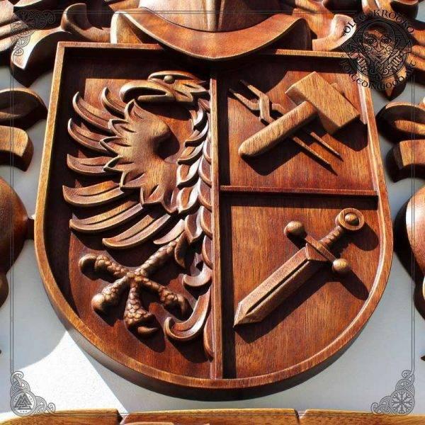 custom Heraldry Art Crest Decor